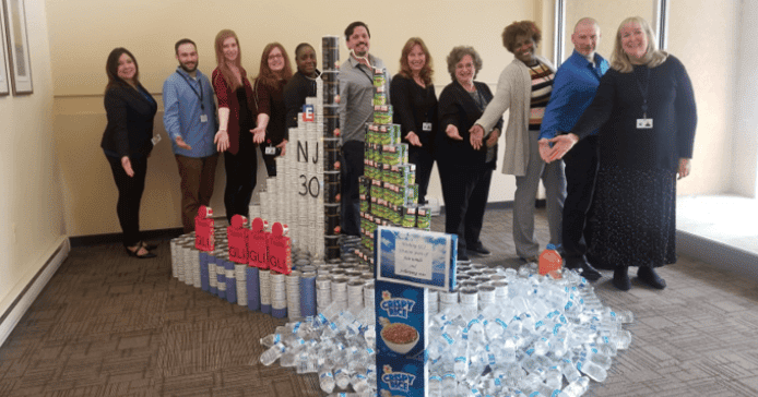 New Jersey Office Canned Food Charity Competition