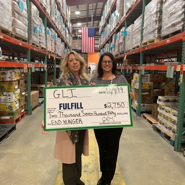 Community Sponsorship - Fullfill (Food Bank of Monmouth & Ocean Counties)
